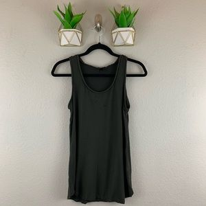 Mossimo Rayon Chain Tank Size Medium